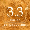 写真:3月3日(日曜日)のさぬきマルシェのテーマは、「麦とパン」です!!