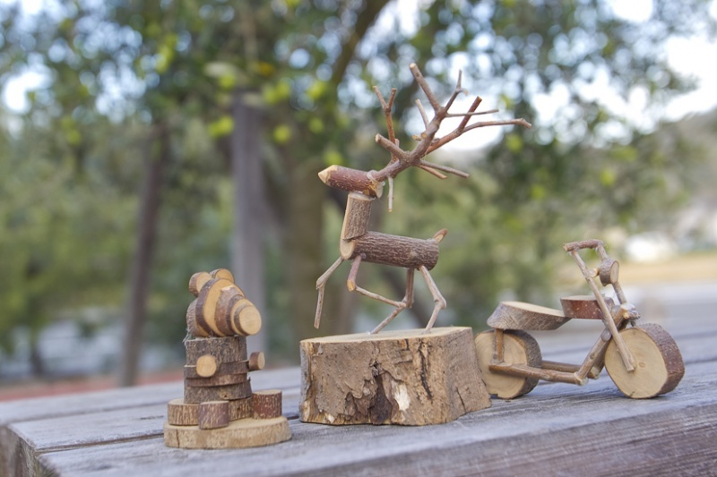 Objects made of wood