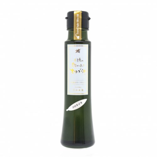 Product image of olive oil made by a farmer in Shodoshima