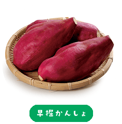 Hayabori Kansho Sweet Potato