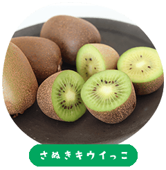 Sanuki Kiwikko(Kiwi Fruits)