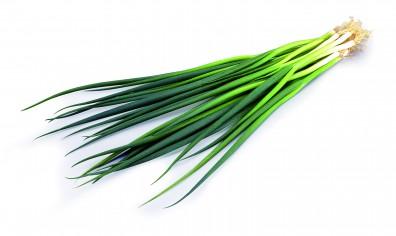 รูปหัวหอมสีเขียว