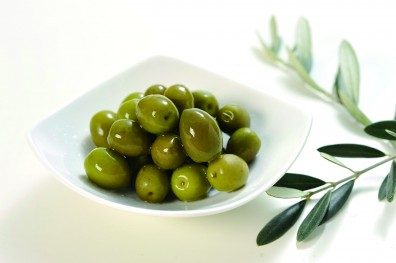 Photo of newly pickled olives