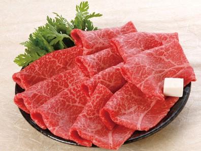 香川県産牛肉の写真