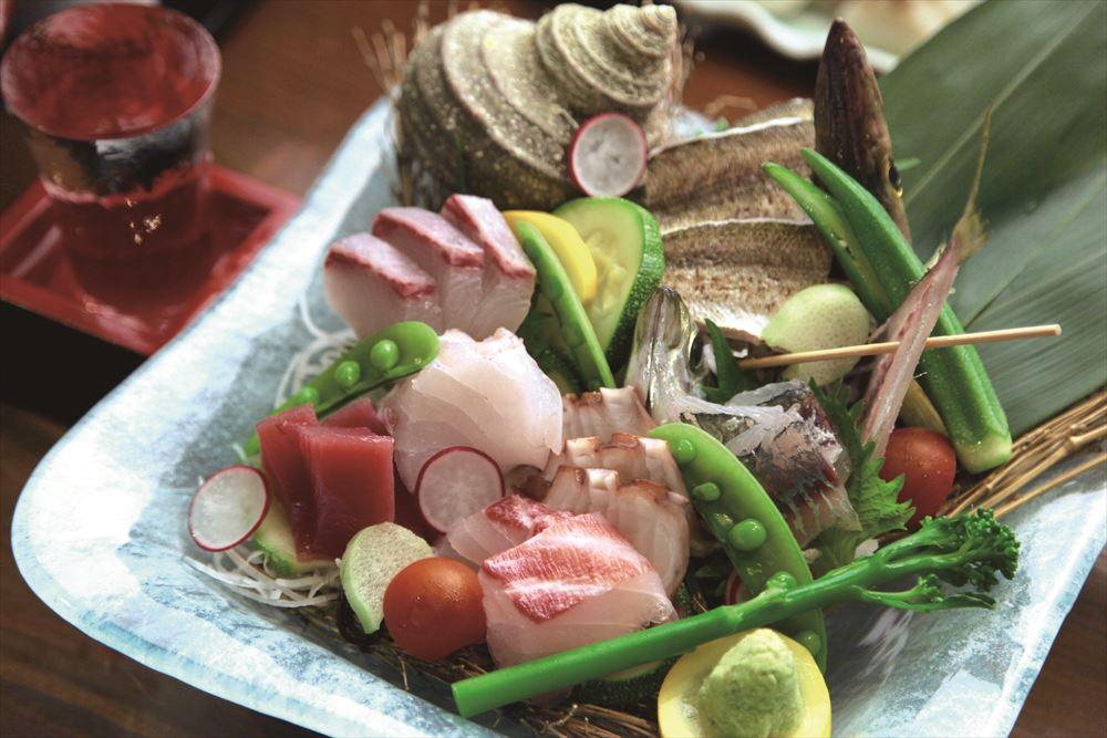 Setouchi Umi no Montoichi cuisine