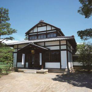 Exterior of Garden Cafe Kuribayashi