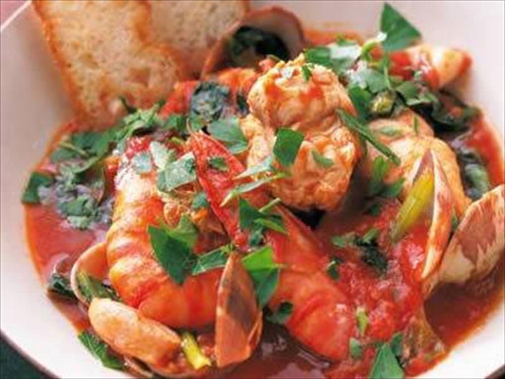 レストラン香松の海鮮料理