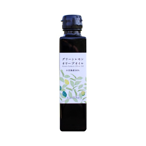 Green lemon olive oil product image