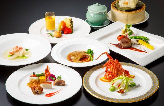 JRホテルクレメント高松 中国料理 桃煌の料理