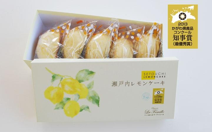 세토 우치 레몬 케이크