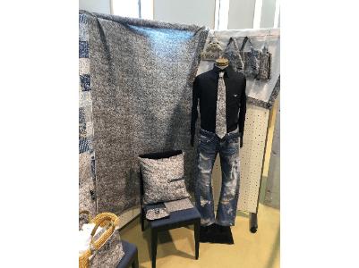 Aji stone fabric
