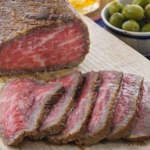 Roast beef of olive beef (miso flavor)