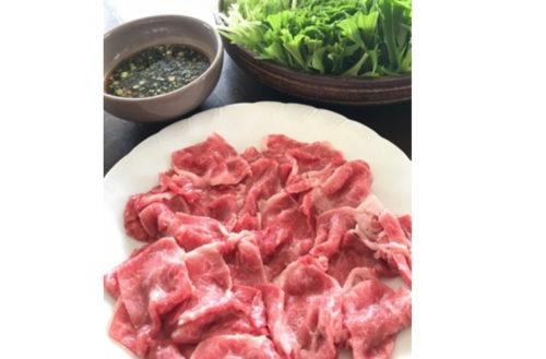 เนื้อแขนมะกอกเนื้อชาบูชาบู