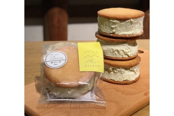 橄欖白巧克力鹽紫貂三明治
